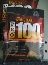 Mutant Pro 100, 100% Gourmet Whey Protein 1.3oz (5 Packets) Peanut Butter