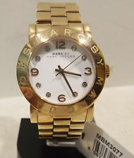 Marc Jacobs Watches -Damen  Armbanduhr MBM 3077 rose-gold 36mm Quarz mit Ständer