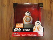 iHome Star Wars BB-8 Disney Bluetooth Speaker - NIB