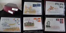 TOP Sammlung BUND Jubiläumsbriefe 1998 - 2013, 65 Teile, schöne Fundgrube, E10
