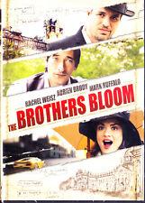The Brothers Bloom (DVD, 2010) Rachel Weisz,Adrien Brody,Mark Ruffalo,New