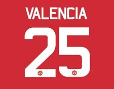 Valencia 25 Manchester United 2017 Europa Final Football Nameset for shirt