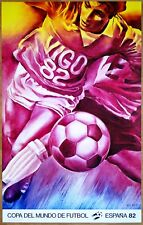 Jacques MONORY (1982) * VIGO * COUPE DU MONDE DE FOOTBALL*  Affiche Originale