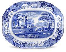 """New & Boxed COPELAND SPODE Blue Italian Design 16"""" Oval Platter"""