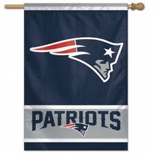 "NEW ENGLAND PATRIOTS 28""X40"" FLAG/BANNER NEW & OFFICIALLY LICENSED"