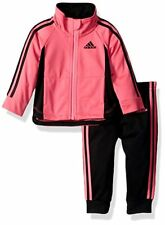 NWT Adidas Toddler Girl 3-PieceTrack Suit Pink or Purple 18M 24M 3T