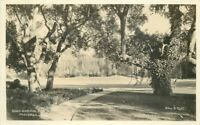 1920s Busch Gardens Pasadena California Hiller Mott RPPC real photo 11026