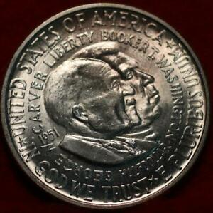 Uncirculated 1951 Washington Carver Silver Comm Half