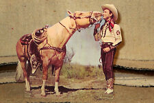 "Roy Rogers and Trigger ""King of the Cowboys"" Figure Tabletop Display Standee 8"""