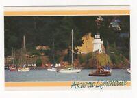 Akaroa Lighthouse New Zealand Banks Peninsula Postcard 913b