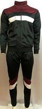 Black Ash T13 Mens Tracksuit Jogging Suit Training suit Full zipper black