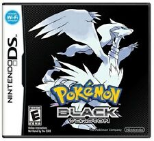 Pokemon Black Version [Nintendo DS DSi, RPG, Monster Catching Training] NEW