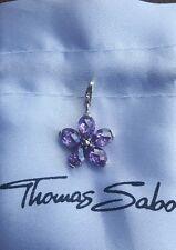 Thomas Sabo Charm Blume / Blüte lila klein