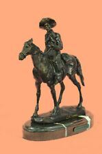 Gift of Handmade Sculpture Statue Will Rogers By Thomas Western Figurine Artwork