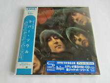 THE BEATLES Rubber Soul JAPAN mini lp CD SHM 2nd Press blue sticker