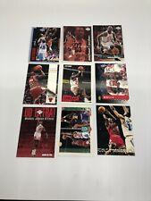 Michael Jordan premium 9 card lot