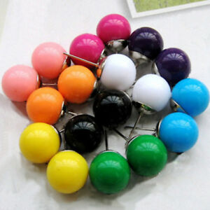 Plastic Pearl 9mm Studs Earrings. Candy Jewellery for Women and Girls Fashion