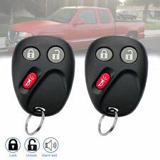 2 for GMC Sierra Yukon 2003 2004 2005 2006 Keyless Remote Car Key Fob