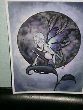 Amy Brown - A Dark Moon - Out Of Print - Signed