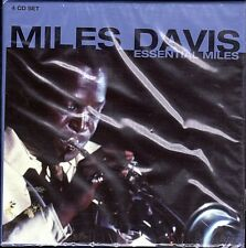Miles Davis~Essential Miles~BRAND NEW PROPER 4 CD Box Set