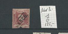 INDIE 1  Willem III 1864  VFU/gebr CV 125 €