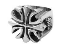 King Baby * Gothic Cross Ring * Size 10* .925 silver * BRAND NEW * 100%AUTHENTIC