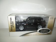 RANGE ROVER SPORT BLACK ERTL COLLETIBLES REF. 42143 SCALA 1:18