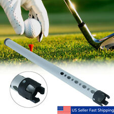 Portable Aluminum 23 Golf Ball Picker Pick Up Practice Shag Shagger Tube A