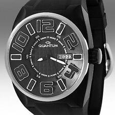 Quantum Powertech Calendar Mens Watch / MSRP $1,179.00