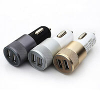 Double Chaud 2.1A 2 ports chargeur voiture USB pour Apple iPhone 6 5S 5C iPod