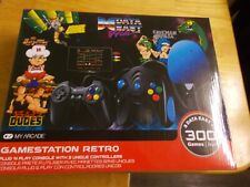 MY ARCADE GameStation Retro Plug & Play Console 300+ Games w/ Data East Hits