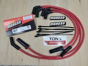 Moroso 28641 Harley HD Milwaukee 8 models 2017+ M8 FLT Ultra 40 Red Wires