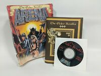 The Elder Scrolls Arena Big Box PC Video Game 1994 Disc Manual Bethesda Software