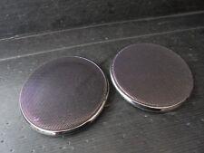 (121)JDM TOYOTA ALTEZZA SXE10 GXE10 Front door plated speaker grille set OEM