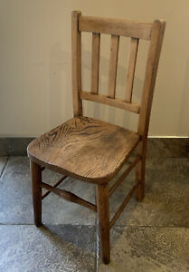 Vintage Small Wooden Child's Chair