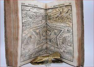 BUSCA, Gabr.: 2 op. in 1 ESPUGNATIONE FORTEZZE Tavole 1585 + BOMBARDIERI 1598