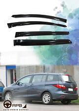 For MAZDA 5 05-10 Deflector Window Visors Guard Vent Weather Shield