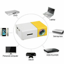 Mini Projector YG300 3D HD LED Portable Home Theater Cinema 1080P AV USB HDMI