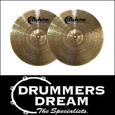 "Brand New Bosphorus New Orleans Series 14"" Hi Hat's Cymbal RRP $489 BPNO14HH"