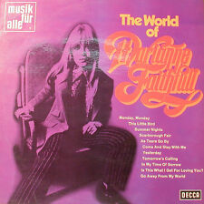 "Marianne Faithfull The World Of -decca Mnd 480 Musique pour Tous -12 "" LP [k75]"