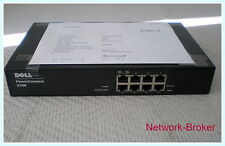 Dell POWERCONNECT 2708 8-Port 10/100/1000 Web-Managed Switch. AC PSU