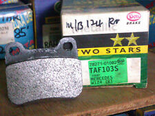 MERCEDES BENZ W124 REAR DISC BRAKE PAD - DON METALLIC