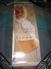 Christina Aguilera-(debut)-1 Poster-7X21 Poster-Mint-Rare