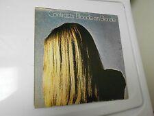 Blonde On Blonde CONTRASTS LP Prog Rock 1969 Janus JLS-3003 EX/VG+