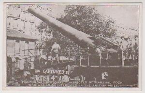 Militär Postkarte - Britisch 4th Armee, Gewehr Geprüft Von Marshal Foch (A34)