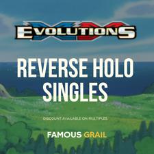 Pokemon XY Evolutions Singles - Reverse Holo Rare / Uncommon / Common Cards MINT