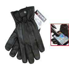 50 Pcs Men's Touch Screen Genuine Sheep Skin Leather Driving Gloves - Tw1003
