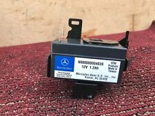 55K MERCEDES W216 W221 CL550 CL63 RECHARGE AUXILIARY BATTERY W PLUG PIGTAIL OEM