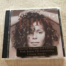JANET JACKSON - Janet. - original limited cd 1995 Aussie - Oz tour w bonus cd