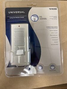 Harbor Breeze Universal Ceiling Fan Remote Control 3-Speed Fan  #0745359
